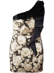 платье с цветочной вышивкой Christian Pellizzari