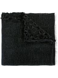 шарф с лазерной перфорацией Cutuli Cult