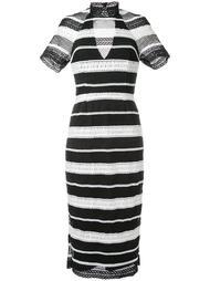 платье миди 'Testa' с воротником-стойкой  Rebecca Vallance