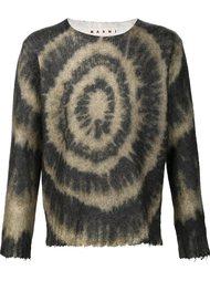 свитер с принтом тай-дай Marni