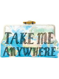 'Take Me Anywhere' clutch Sarah's Bag