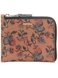 кошелек с цветочным принтом   Paul Smith