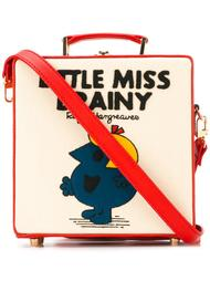 маленькая квадратная сумка-тоут 'Little Miss Brainy' Olympia Le-Tan