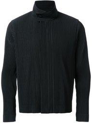 куртка с плиссировкой  Homme Plissé Issey Miyake