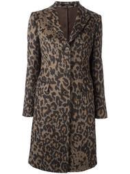 пальто с леопардовым узором Tagliatore