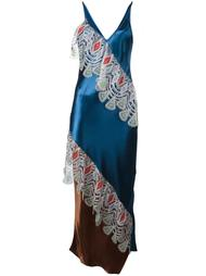 guipure ruffled maxi dress Peter Pilotto