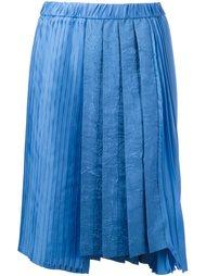 асимметричная плиссированная юбка Nº21