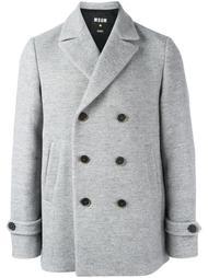 двубортный пиджак MSGM