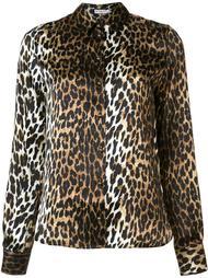 рубашка с леопардовым узором Emanuel Ungaro