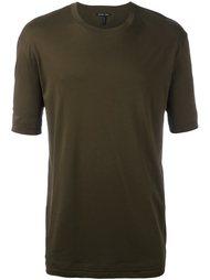 двухслойная футболка Helmut Lang