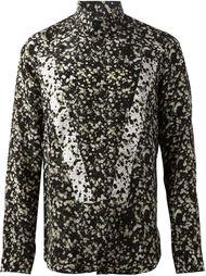 рубашка с цветочным принтом Givenchy