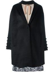 пальто с кружевной панелью Nº21