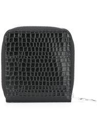 кошелек с эффектом крокодиловой кожи Mm6 Maison Margiela