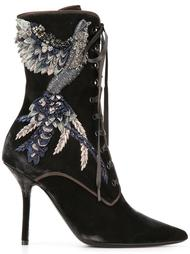 ботинки на шнуровке Alberta Ferretti