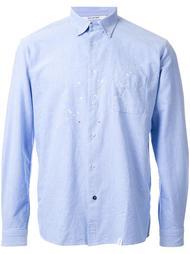 рубашка на пуговицах с пятнышками Bedwin & The Heartbreakers