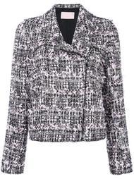 твидовая байкерская куртка  Giamba