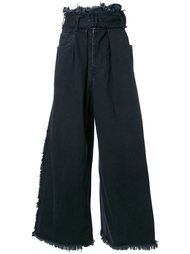 широкие джинсы  Maison Mihara Yasuhiro