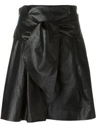 юбка с имитацией кожи MSGM