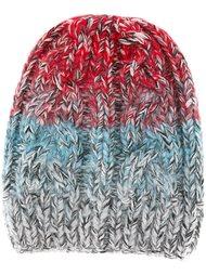 шапка вязки косичкой Missoni