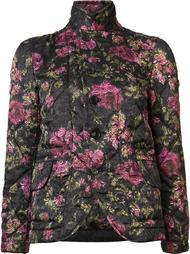 стеганая куртка с цветочным узором Comme Des Garçons