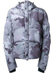 камуфляжная куртка-пуховик с капюшоном Kru