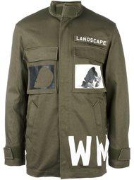 куртка в стиле милитари с принтом Cy Choi