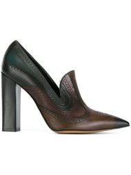 туфли в стиле брог Etro