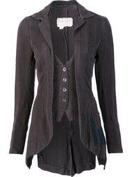 fitted waistcoat jacket Greg Lauren