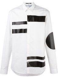 двухцветная рубашка  McQ Alexander McQueen