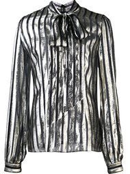 блузка с бантом в полоску By. Bonnie Young