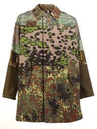 multi-print coat Herno
