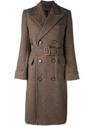 пальто в клетку Polo Ralph Lauren