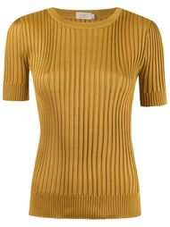 ribbed knit blouse Gig