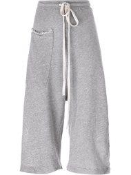 укороченные брюки с разрезами Lost & Found Ria Dunn