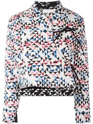 'Soo' quilted wrap jacket Reality Studio