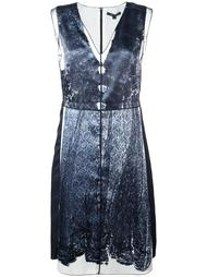 trompe-l'œil lace print dress Marc Jacobs