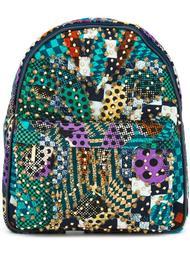 рюкзак с золотистыми заклепками Manish Arora