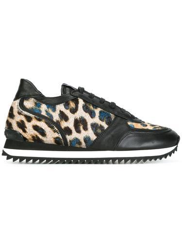 кроссовки с леопардовым узором Le Silla