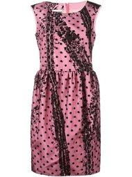 платье в горох Moschino