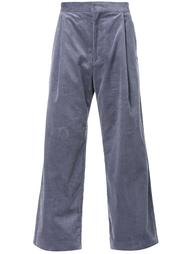 широкие вельветовые брюки H Beauty&Youth.