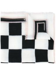 шарф в клетку Salvatore Ferragamo