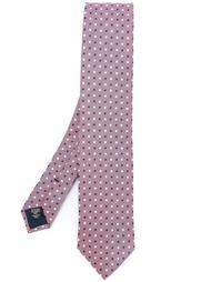 галстук с вышивкой Ermenegildo Zegna