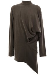 long draped sweatshirt Moohong