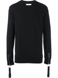 zipped cuff sweatshirt Matthew Miller