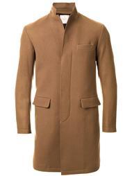 однобортное пальто Factotum