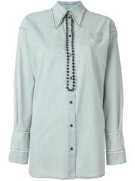джинсовая рубашка  Nº21