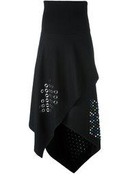 декорированная асимметричная юбка J.W.Anderson