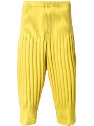 укороченные брюки  Homme Plissé Issey Miyake