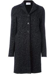 пальто с анималистическим узором Harris Wharf London