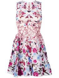 расклешенное платье с пайетками Zuhair Murad